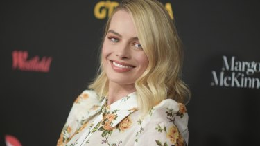 Margot Robbie attends the 2018 G'Day USA gala at the InterContinental Los Angeles Downtown hotel.