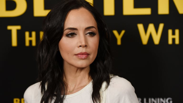 Actress Eliza Dushku says she was sexually molested at age 12 by a stunt coordinator during production of the 1994 film True Lies.