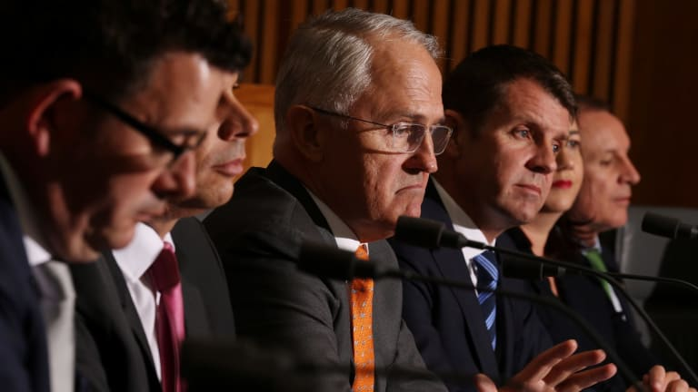 """Just two days before the COAG, Malcolm Turnbull had described the idea of letting the states levy their own income taxes as a """"once in several generations"""" reform."""