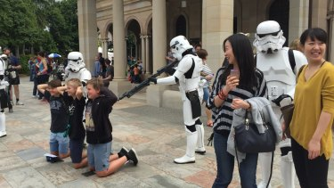 Star Wars fans found plenty to be excited about.