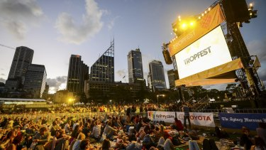 Tropfest ... going ahead on February 14 after cancellation in December.