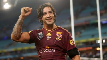"""Johnathan Thurston said the human rights award """"far outweighs what I've achieved on the field""""."""