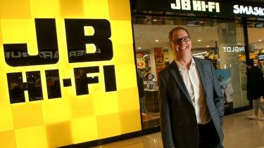 JB Hi-Fi chief executive Richard Murray.