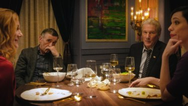 The Dinner includes Laura Linney (left), Steve Coogan, Richard Gere and Rebecca Hall in its top-notch cast.