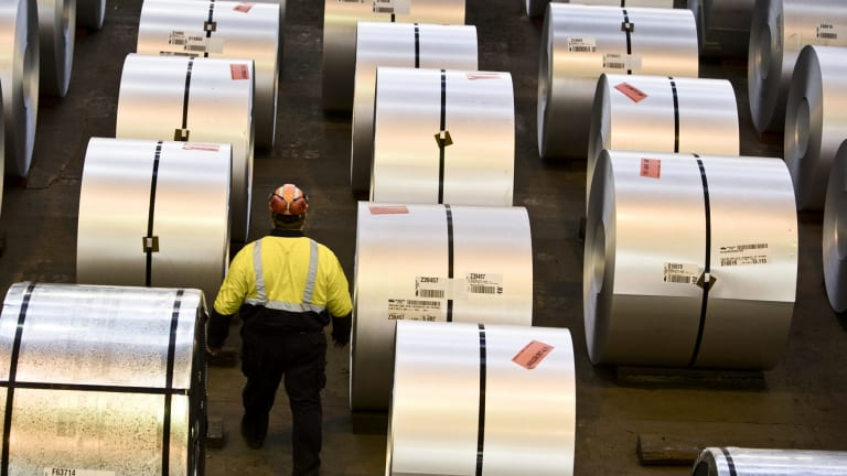 BlueScope Steel workers are being offered vocational and training opportunities.