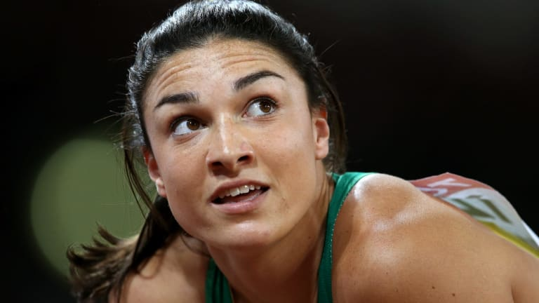 Michelle Jenneke did not get  past the first round at the Rio Games.
