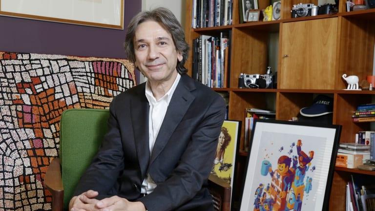 New film ... Animal Logic chief executive Zareh Nalbandian.