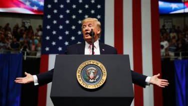 US President Donald Trump's tweets continue a three-day crusade to pressure the league to fire players who have taken a knee to protest against police violence towards minorities.