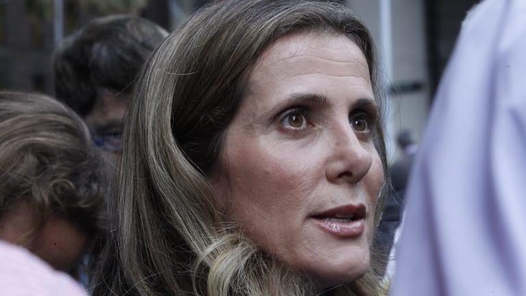 Former Health Services Union leader Kathy Jackson