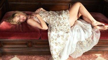 Lara Bingle in Harper's Bazaar.