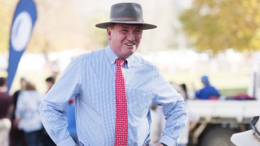 Deputy Prime Minister Barnaby Joyce is due to appear alongside Prime Minister Malcolm Turnbull in Rockhampton on Thursday.