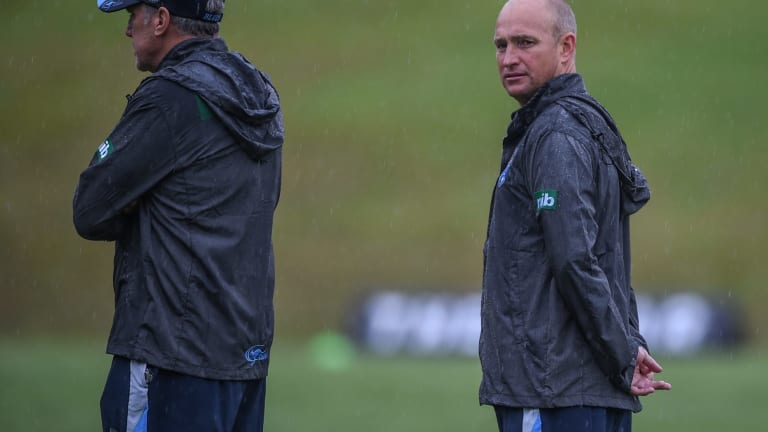 Nathan Brown, pictured at Coffs Harbour during the Blues Origin camp this year.