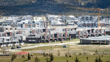Rapid development is changing the face of Canberra.