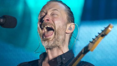 Thom Yorke: The Radiohead singer has been criticised for playing in Israel this year.