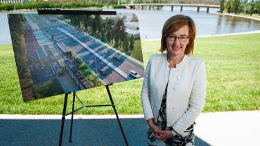 Minster for Transport Canberra and City Services, Meegan Fitzharris.