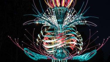 <i>Spherophyte</i> by Alex Sansom will unfurl at Birrarung Marr.