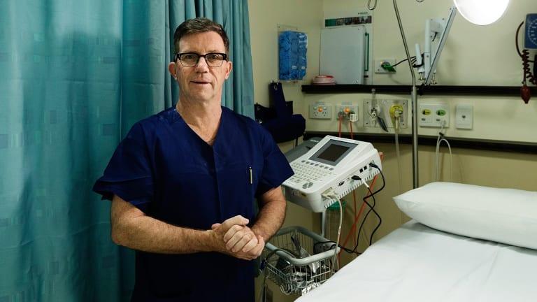 Men's health leader: Dr Christopher Love.