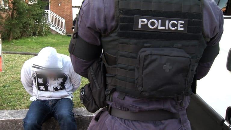 Police arrest one Anslem Lee.
