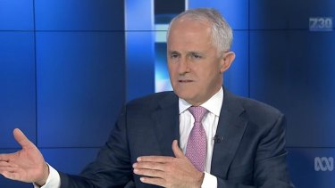 """Primer Minister Malcolm Turnbull asked Sales is she had """"lost interest in innovation""""."""