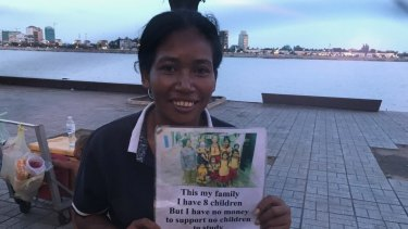 Yem Chanthy is a street beggar in Cambodia's capital Phnom Penh, and the adopted daughter of Australian film maker James Ricketson