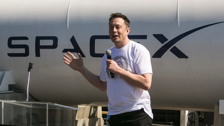 There is speculation Australia will use the visit of SpaceX CEO Elon Musk  this week to confirm Australia will establish some form of space agency.