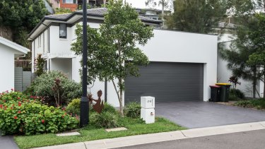 The house in Revesby Heights.