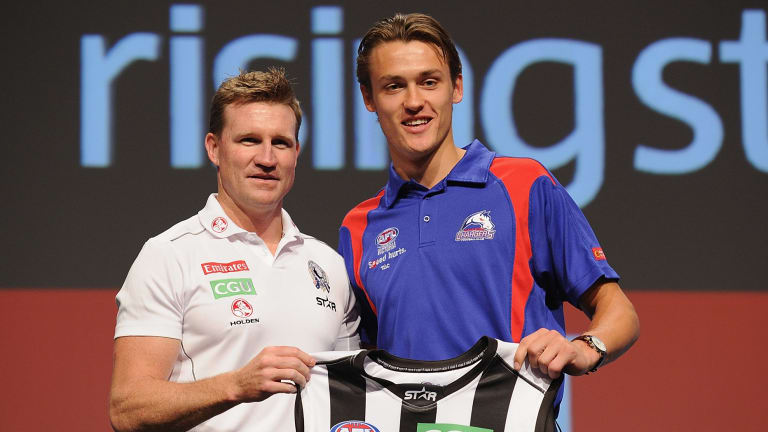 Nathan Buckley and Darcy Moore.