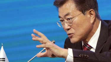 South Korean President Moon Jae-in was no fan of missile defence.