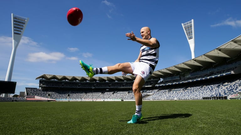 Gary Ablett will play predominantly in the midfield, not the forward line.