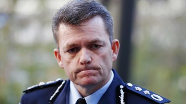 'Human error': Australian Federal Police Commissioner Andrew Colvin.