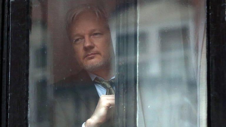 Julian Assange lives at the Ecuadorian embassy in London.