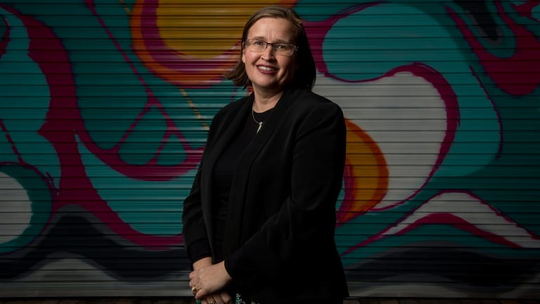 New Blue: Victorian Human Rights and Equal Opportunity Commissioner Kate Jenkins is joining the Carlton board