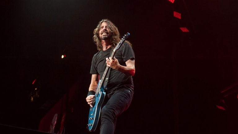 Foo Fighters play NIB Stadium, Perth.