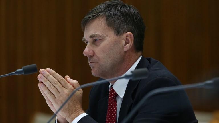 Glenn Druery at the Senate voting reform committee.