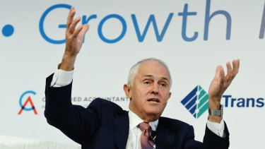 Prime Minister Malcolm Turnbull has admitted for the first time his government supports the penalty rate cut.
