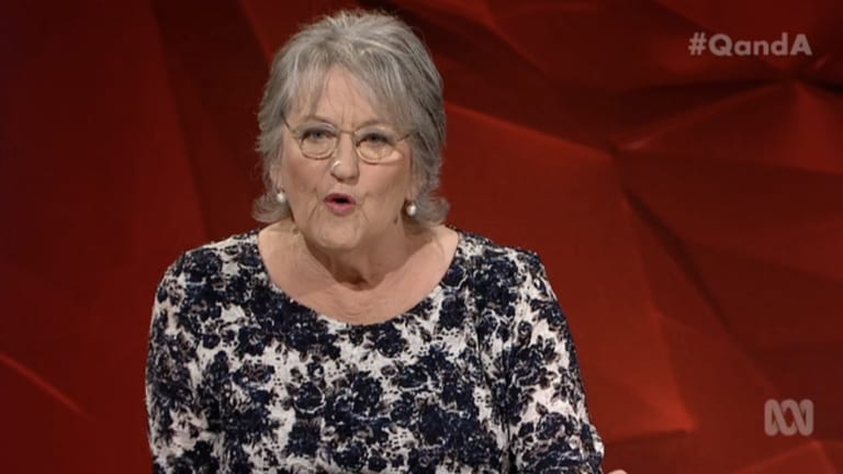 She said what? Germaine Greer regularly causes uproar with her remarks on the ABC's Q&A.
