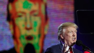 How did Republican presidential candidate Donald Trump get so far before his ethics started to be seriously questioned?