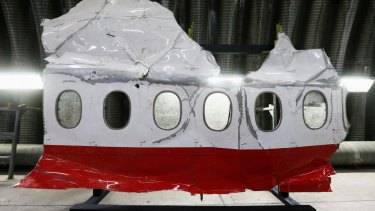 The MH17 reconstruction in Holland. The Dutch Safety Board report has produced some answers – but not all in the case of the doomed flight.