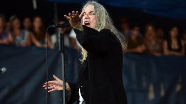 Set to make her last tour of Australia: Patti Smith will play at Blues Fest.