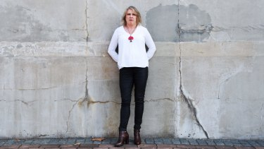 """""""It saved my life, it's as simple as that"""": Domestic violence survivor Lisa McAdams."""