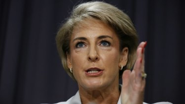 Employment Minister Michaelia Cash brushed over the core issue of gender pay inequality.