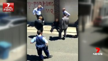 A teenager arrested on Wednesday with a bayonet knife and a note pledging allegiance to Islamic State had allegedly vowed to outdo the Parramatta shooting of police accountant Curtis Cheng.