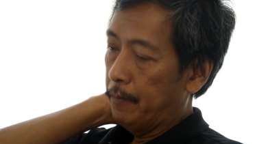 'IS are sadists': Heru Kurnia in the video created by the Indonesian government's BNPT counter-terrorism unit.