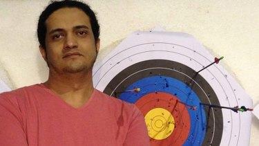 Sentenced to death: Palestinian artist Ashraf Fayadh.