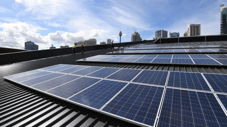 Australia's solar capacity is enough to power all of Melbourne's homes and should reach the equivalent of Sydney's by year's end.