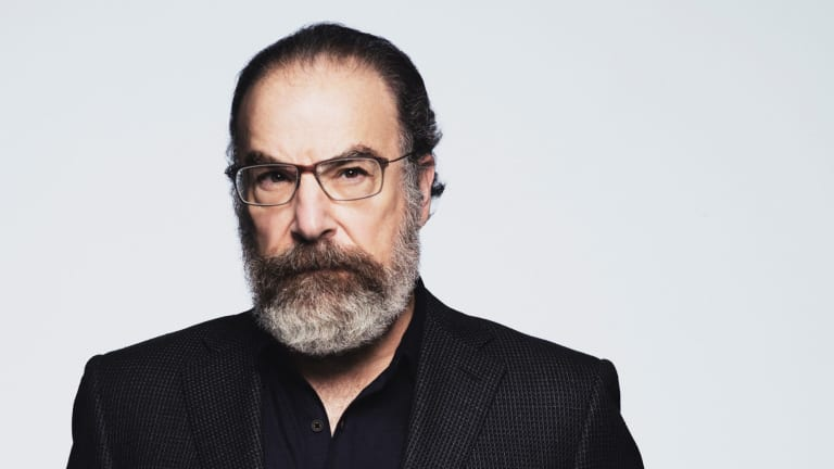 """""""If we were to hold our mirror up to the nature of current events, I think it would send the viewer fleeing from the television,"""" says actor Mandy Patinkin."""