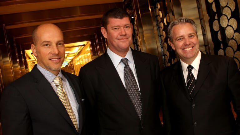James Packer is gathering his Las Vegas lieutenants: Andrew Pascal, left, and Todd Nisbet.