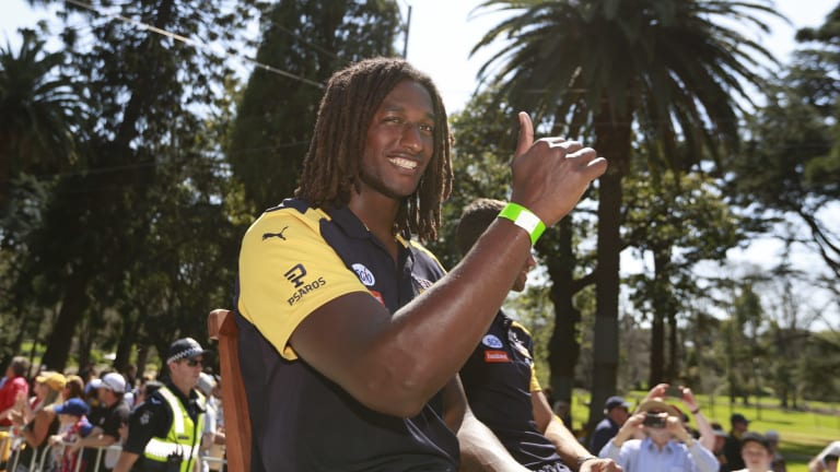 Nic Naitanui hasn't ruled out making a return to AFL in 2017.