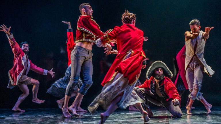 Bangarra Dance Company tells the story of Bennelong.