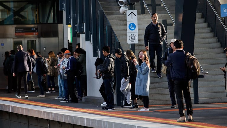 An airport rail link stopping in Sunshine is on top of a wishlist of infrastructure mayors from Melbourne's west are taking to Canberra.